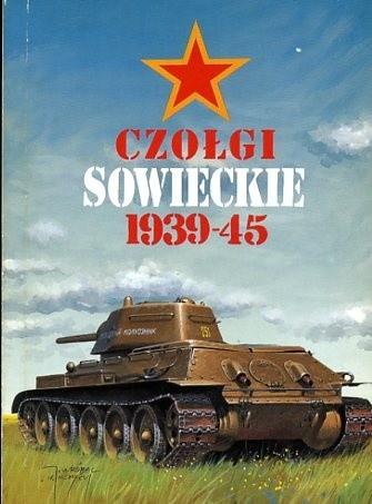 Okładka książki Czołgi sowieckie 1939-45