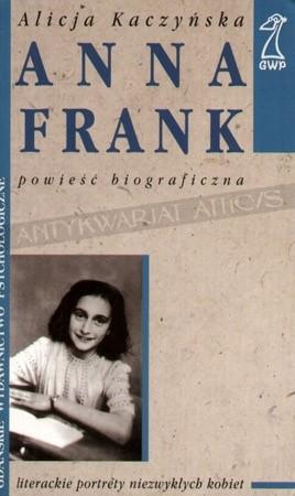Okładka książki Anna Frank
