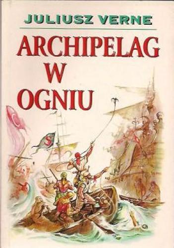 Okładka książki Archipelag w ogniu