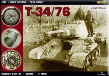Okładka książki T-34/76