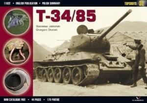 Okładka książki T-34/85