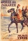 Okładka książki Morze na Saharze