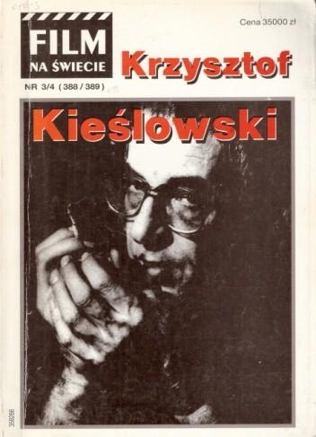 Okładka książki Film na świecie,  nr 3-4 (388-389), 1992. Krzysztof Kieślowski