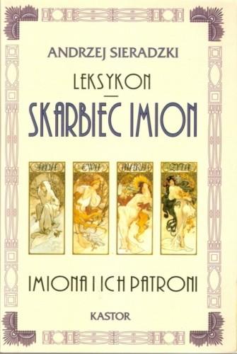 Okładka książki Skarbiec imion