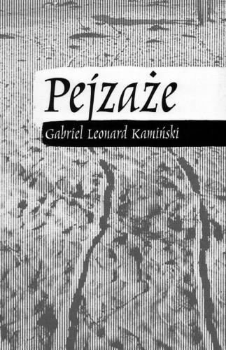 Okładka książki Pejzaże