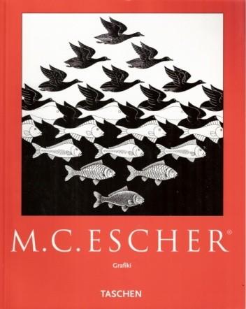 Okładka książki M.C. Escher. Grafiki. Wprowadzenie i komentarz artysty