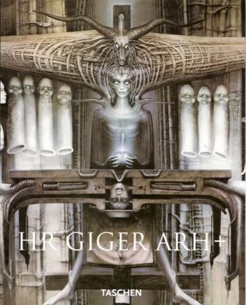 Okładka książki HR Giger ARh +