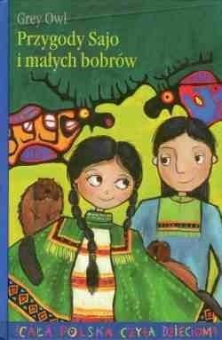 Okładka książki Przygody Sajo i małych bobrów