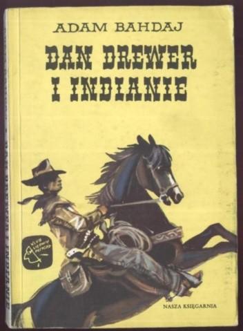Okładka książki Dan Drewer i Indianie