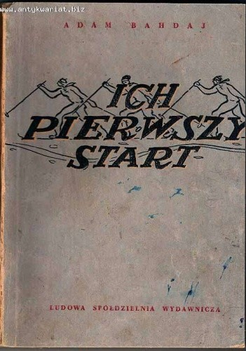 Okładka książki Ich pierwszy start