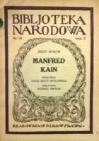 Manfred; Kain