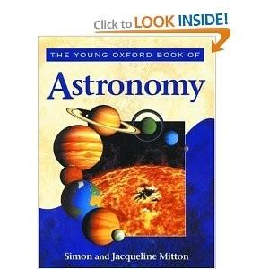 Okładka książki Astronomia z serii Oxford Młodym