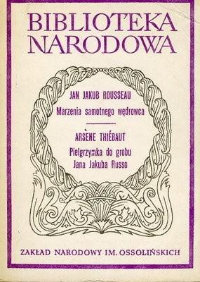 Okładka książki Marzenia samotnego wędrowca