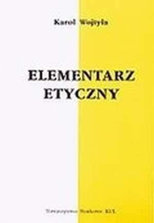 Okładka książki Elementarz Etyczny
