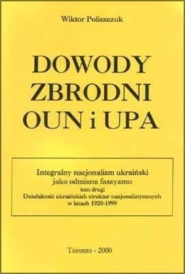 Okładka książki Dowody zbrodni OUN i UPA
