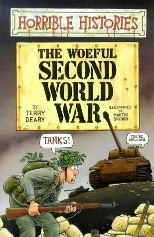 Okładka książki The woeful second world war