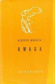 Okładka książki Uwaga