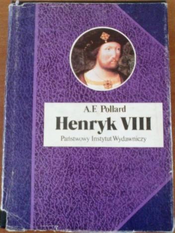 Okładka książki Henryk VIII