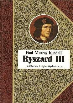 Okładka książki Ryszard III
