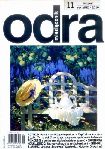 Okładka książki Odra, nr 11 / listopad 2010