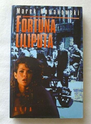 Okładka książki Fortuna liliputa