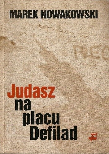 Okładka książki Judasz na placu Defilad