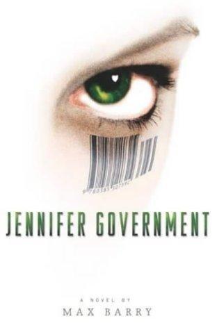 Okładka książki Jennifer Government