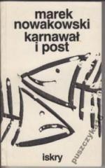 Okładka książki Karnawał i post