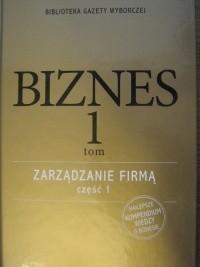 Okładka książki Zarządzanie firmą, część 1