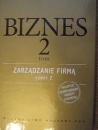 Okładka książki Zarządzanie firmą, część 2