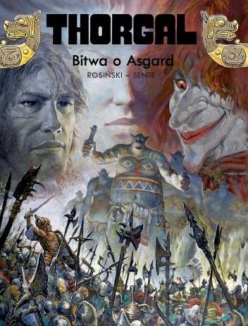 Okładka książki Thorgal: Bitwa o Asgard