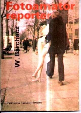 Okładka książki Fotoamator reporter