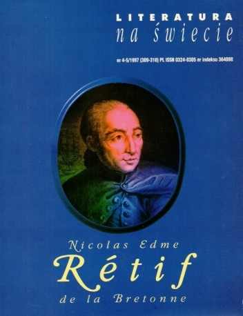 Okładka książki Literatura na świecie nr 4-5/1997 (309-310)