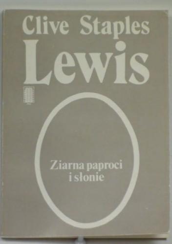 Okładka książki Ziarna paproci i słonie