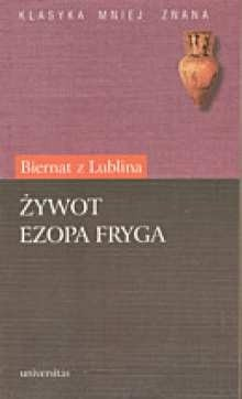 Okładka książki Żywot Ezopa Fryga
