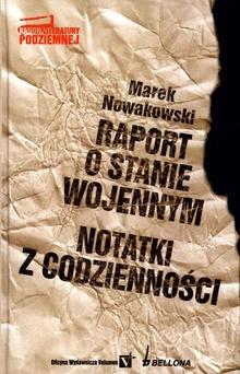 Okładka książki Raport o stanie wojennym