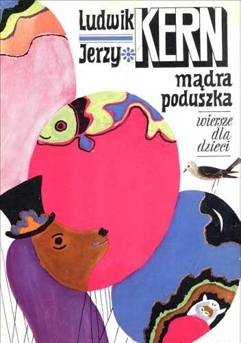 Okładka książki Mądra Poduszka. Wiersze dla dzieci