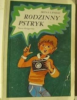Okładka książki Rodzinny pstryk