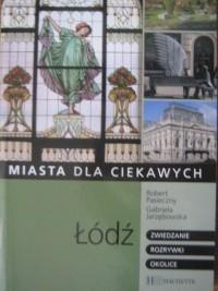 Okładka książki Łódź