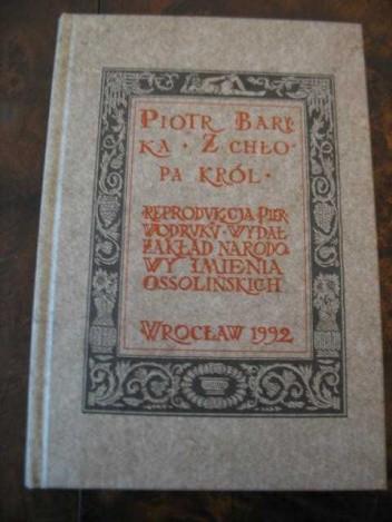 Okładka książki Z chłopa król