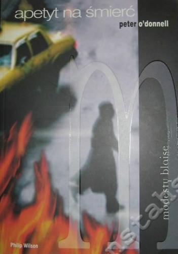 Okładka książki Apetyt na śmierć