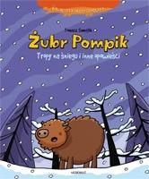 Okładka książki Żubr Pompik : tropy na śniegu i inne opowieści