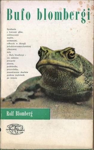 Okładka książki Bufo blombergi
