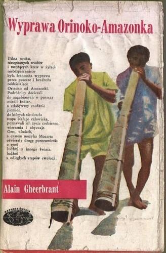 Okładka książki Wyprawa Orinoko-Amazonka