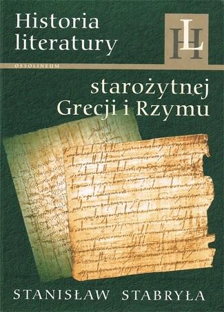 Okładka książki Historia literatury starożytnej Grecji i Rzymu. Zarys