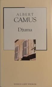 Okładka książki Dżuma