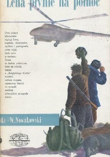 Okładka książki Lena płynie na  północ