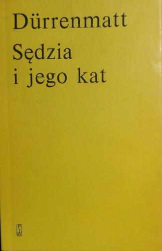 Okładka książki Sędzia i jego kat