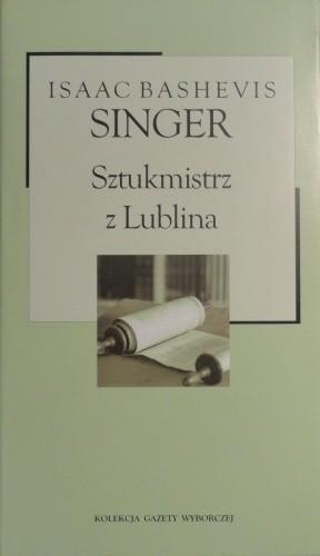 Okładka książki Sztukmistrz z Lublina
