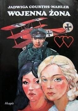 Okładka książki Wojenna żona